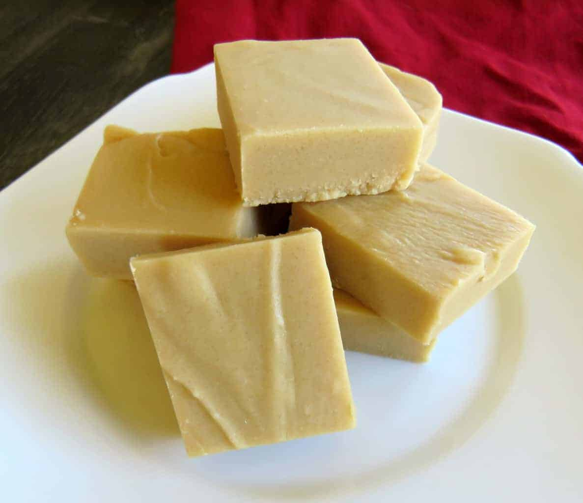 Just A Mum Caramel White Chocolate Microwave Fudge