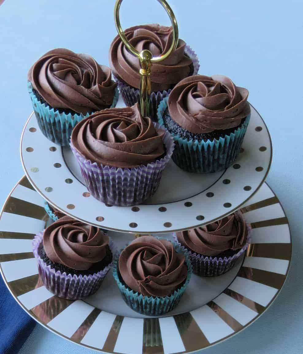 Just A Mums Best Ever Chocolate Cupcakes