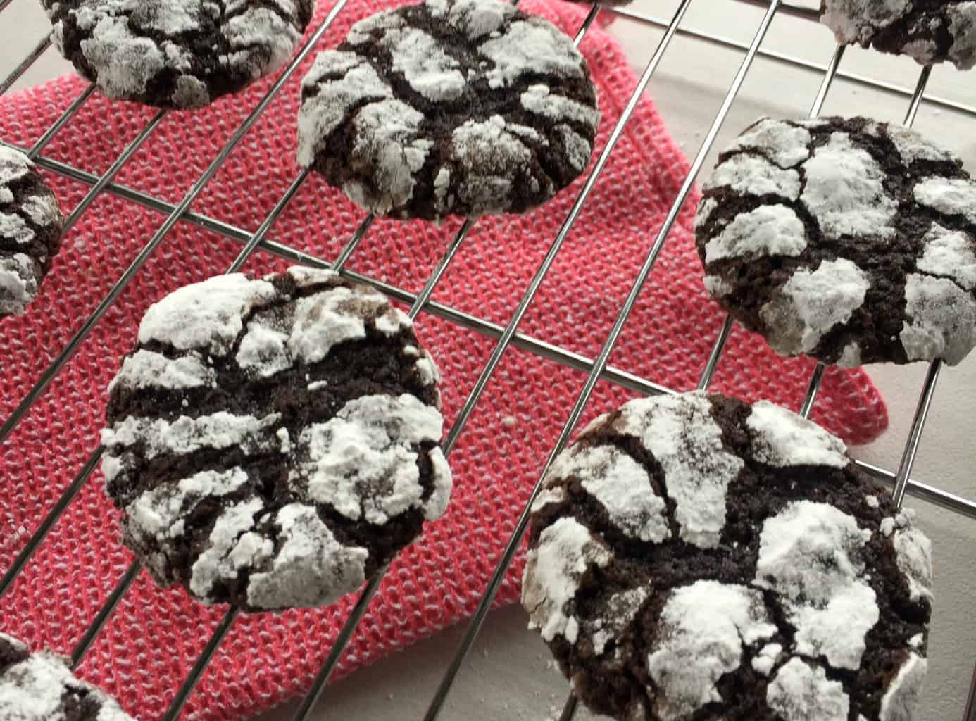 Just A Mum Chocolate Crackle Biscuit