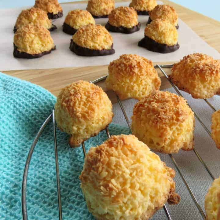 Simple 3 Ingredient Coconut Macaroons Just A Mum