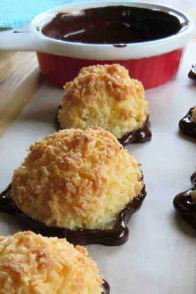 Simple 3 Ingredient Coconut Macaroons