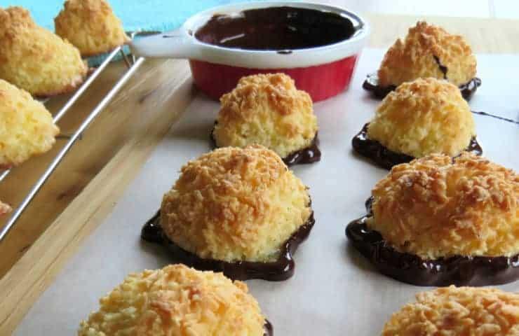 Simple 3 Ingredient Coconut Macaroons