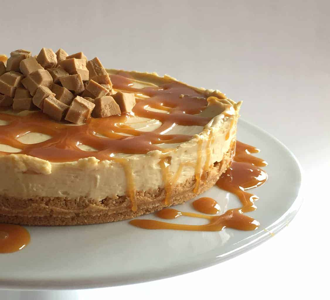Just A Mum Caramilk Cheesecake