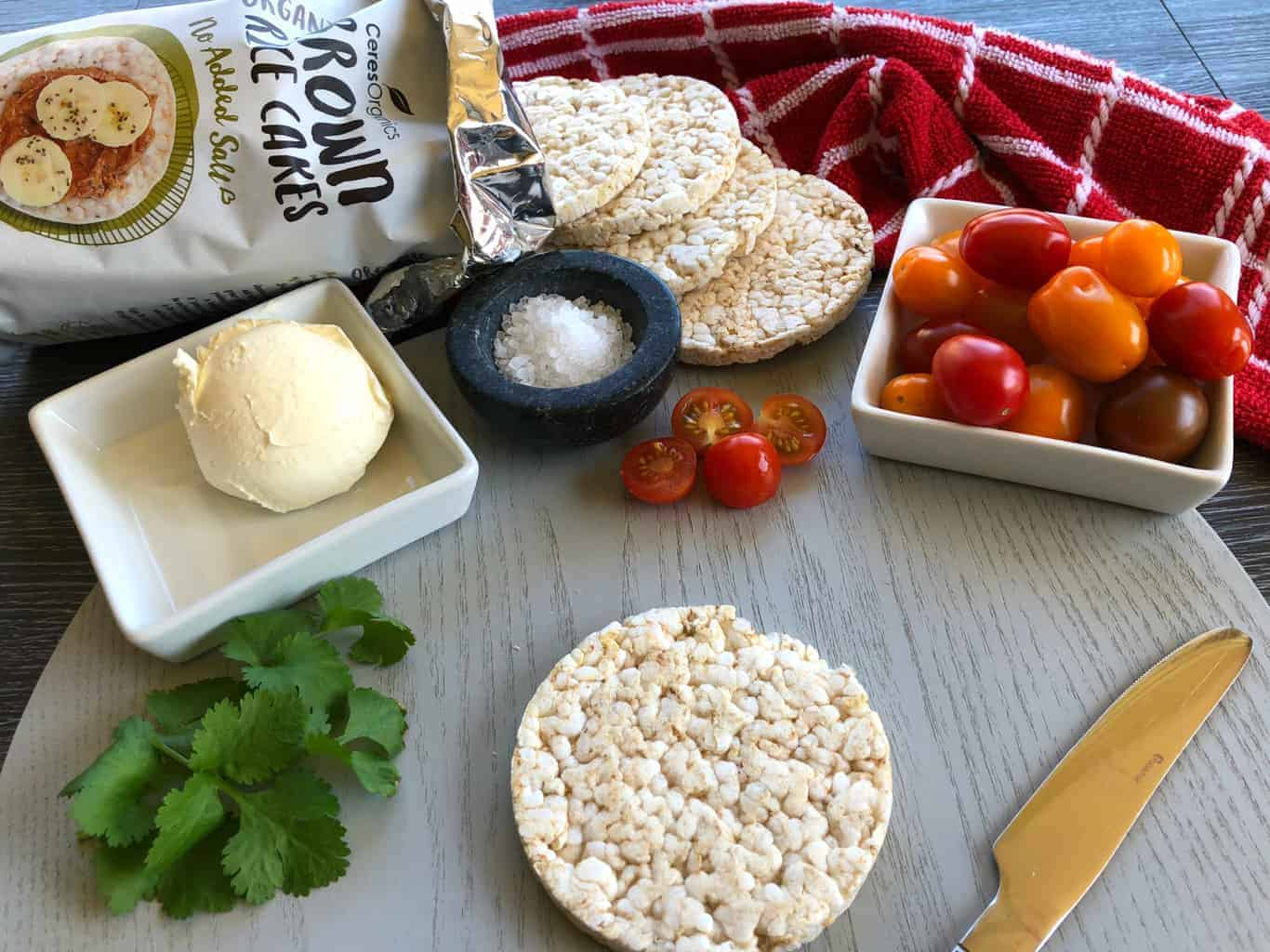 Just A Mum Rice Cake Topping Ideas