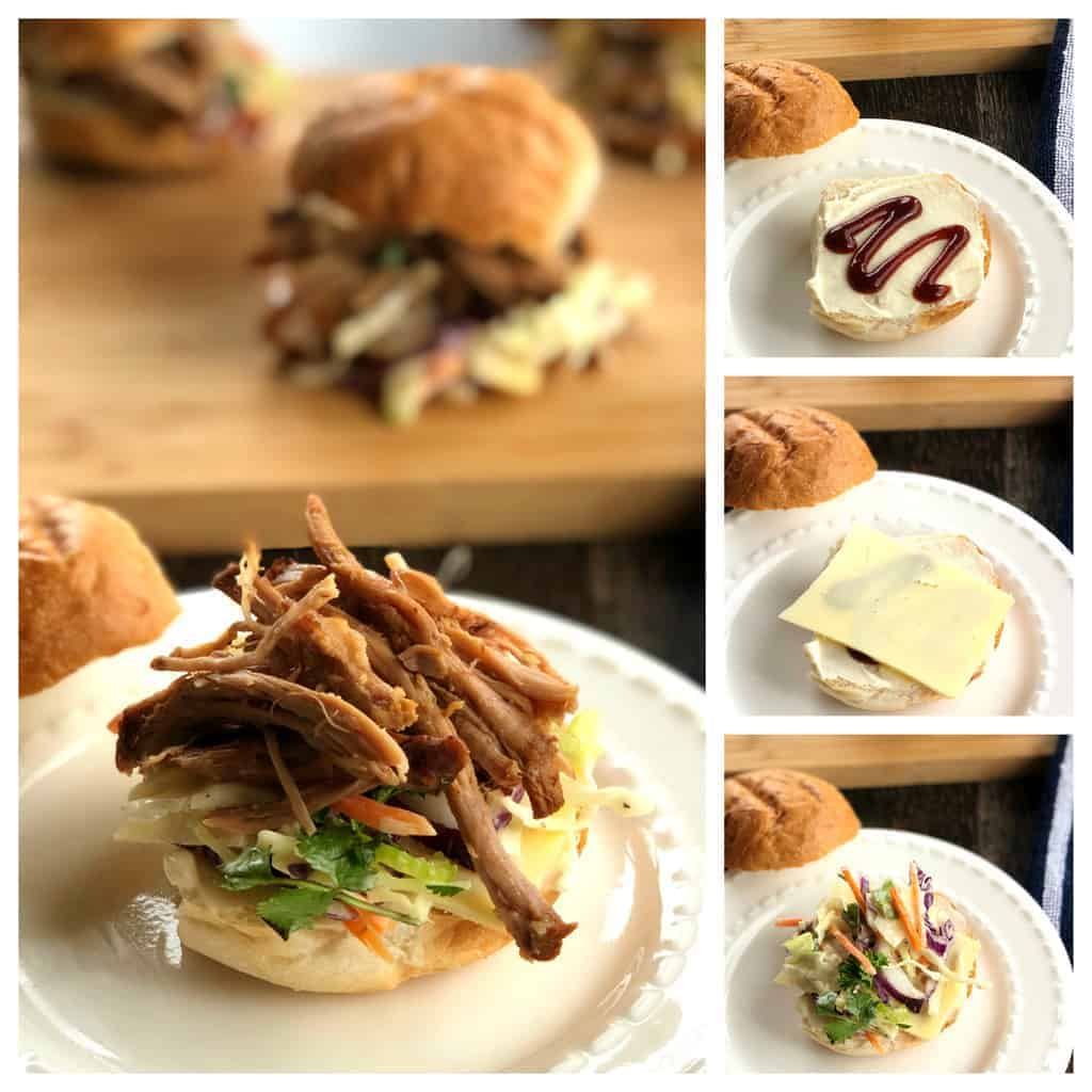 Just A Mum How to Make BBQ Pulled Pork Sliders
