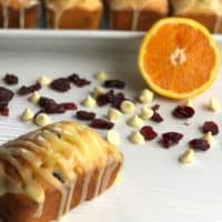 Delicious White Chocolate & Cranberry Loaf