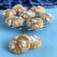 Orange Crackle Biscuits