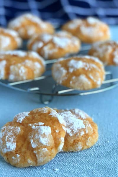 Orange Crackle Biscuits