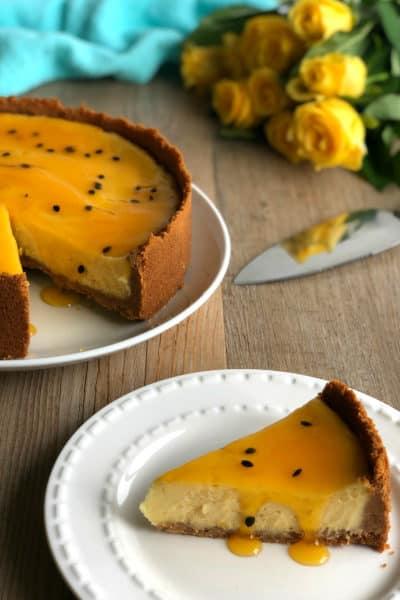 Easy Baked New York Cheesecake