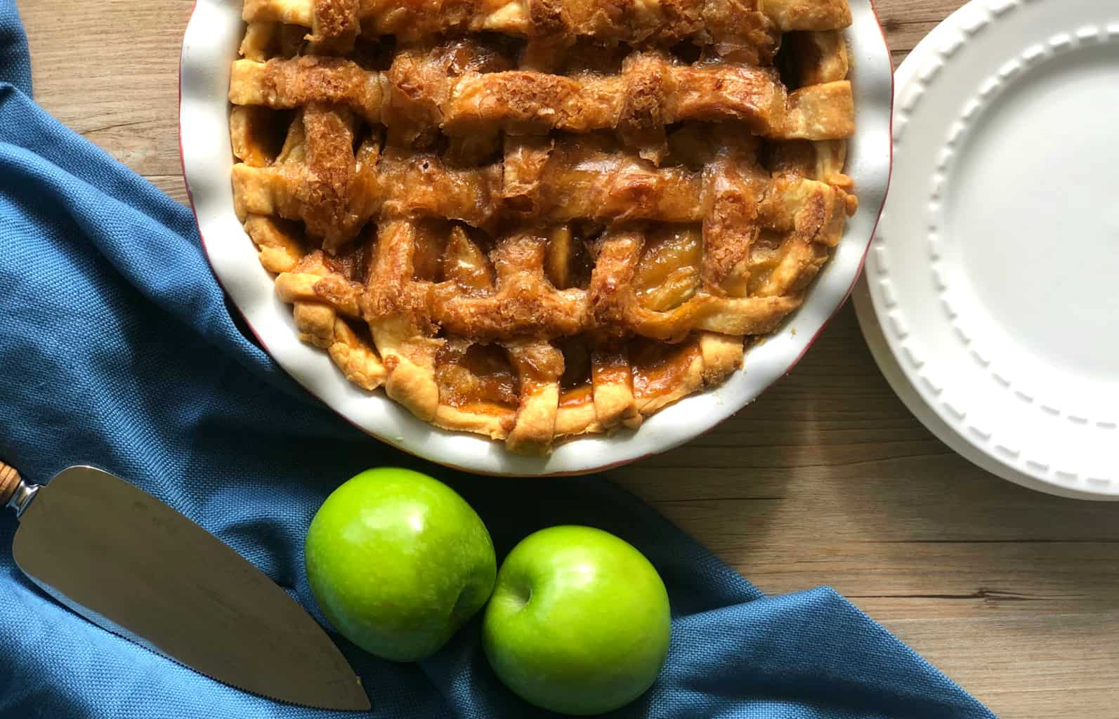 Just A Mums Caramel Apple Pie