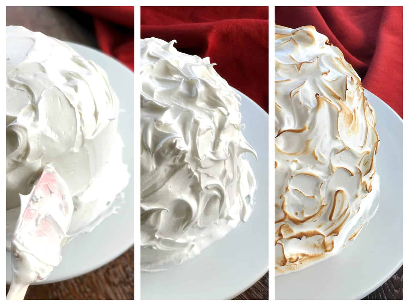 How to make a meringue for Baked Alaska