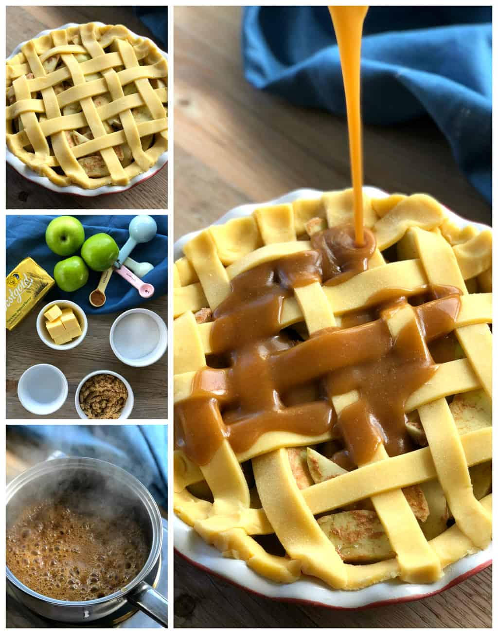 Caramel Topping for the Caramel Apple Pie Recipe