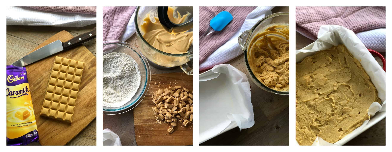 Step by Step Cookie Slice