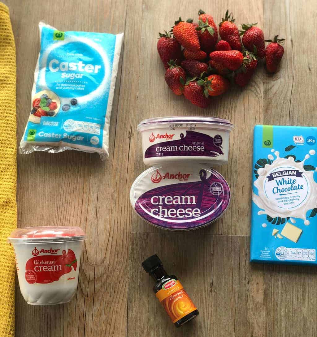 Strawberry Cheesecake Filling Ingredients