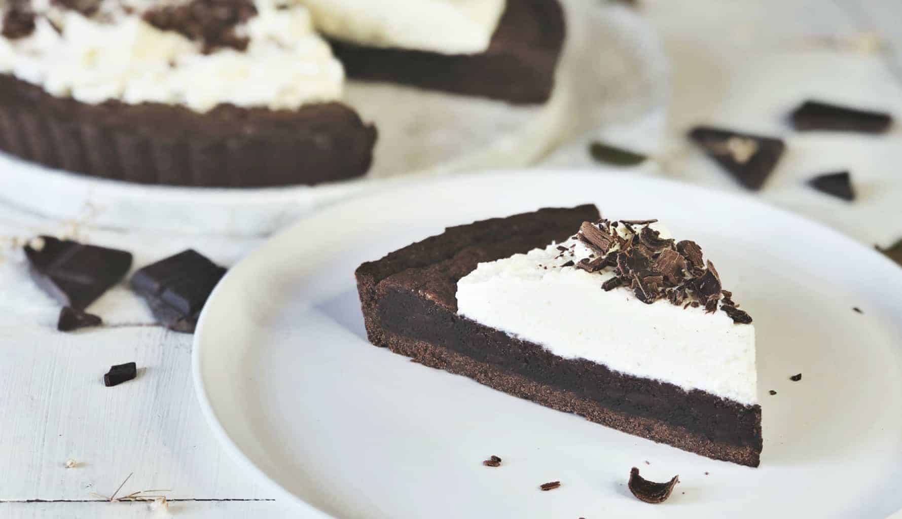 Baker Gatherer Brownie Cream Pie
