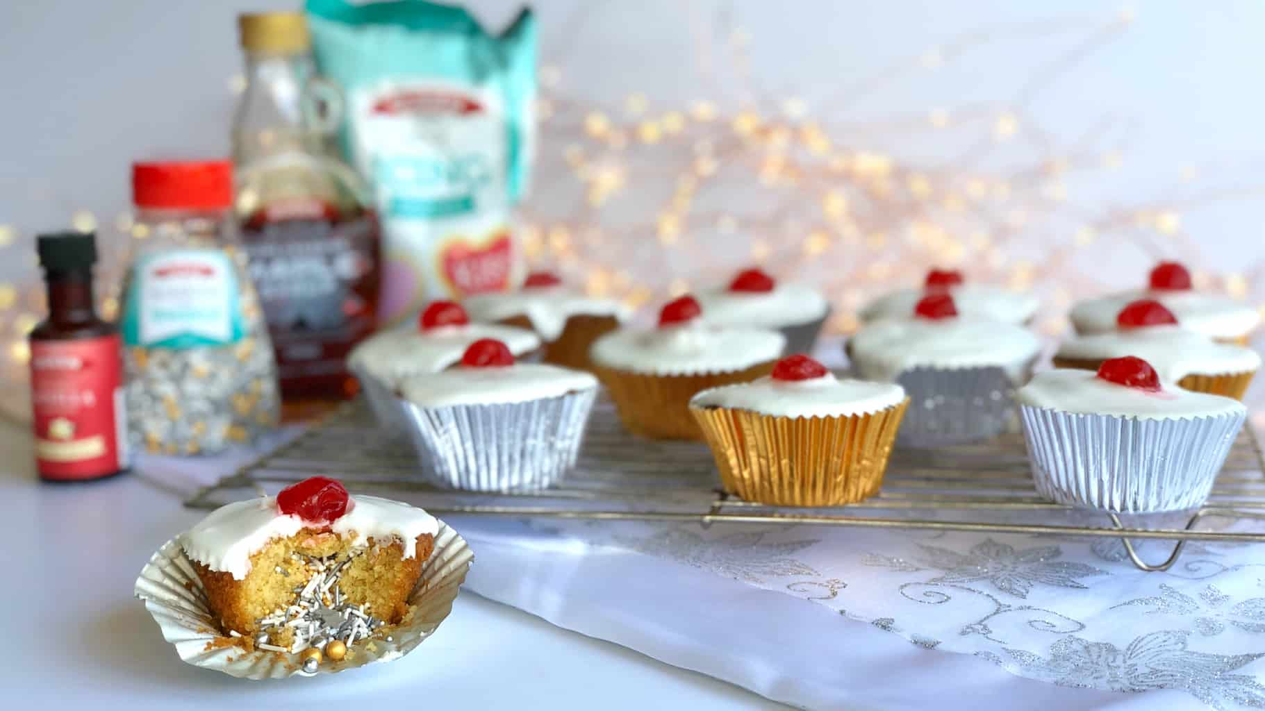 Surprise Inside Cupcakes with Queen Fine Foods