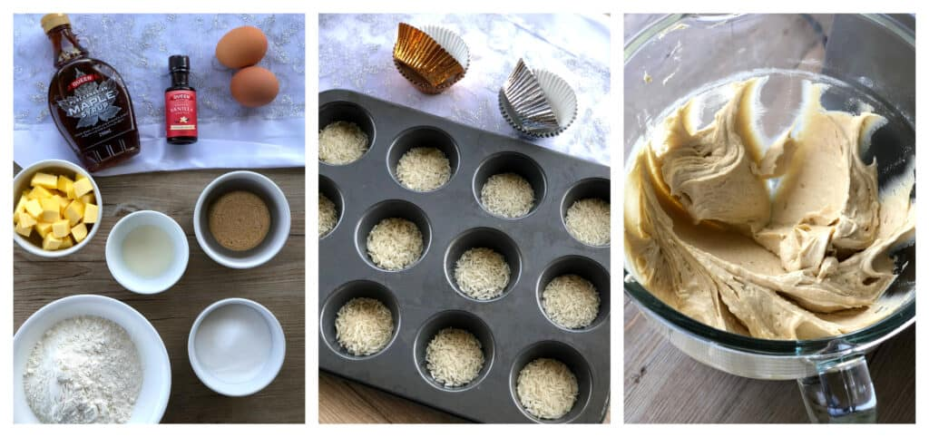 How to avoid oily cupcake cases - use rice!