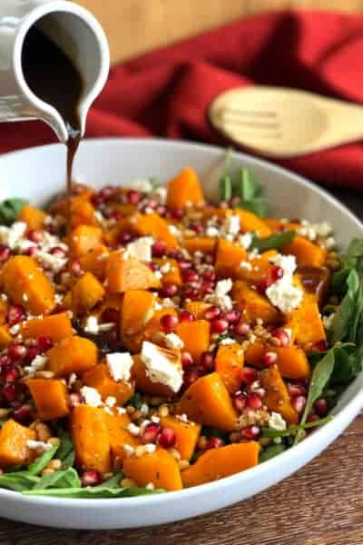 Roasted Butternut Pumpkin Salad Just A Mum