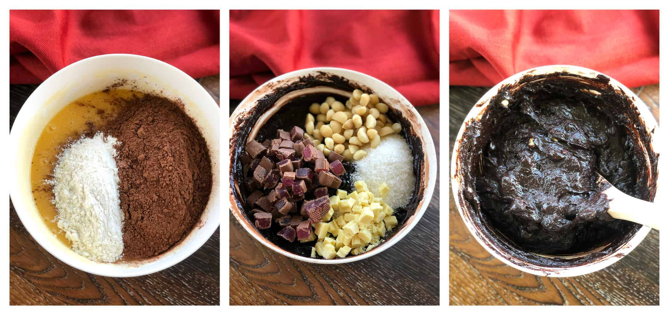How to make rocky road brownie