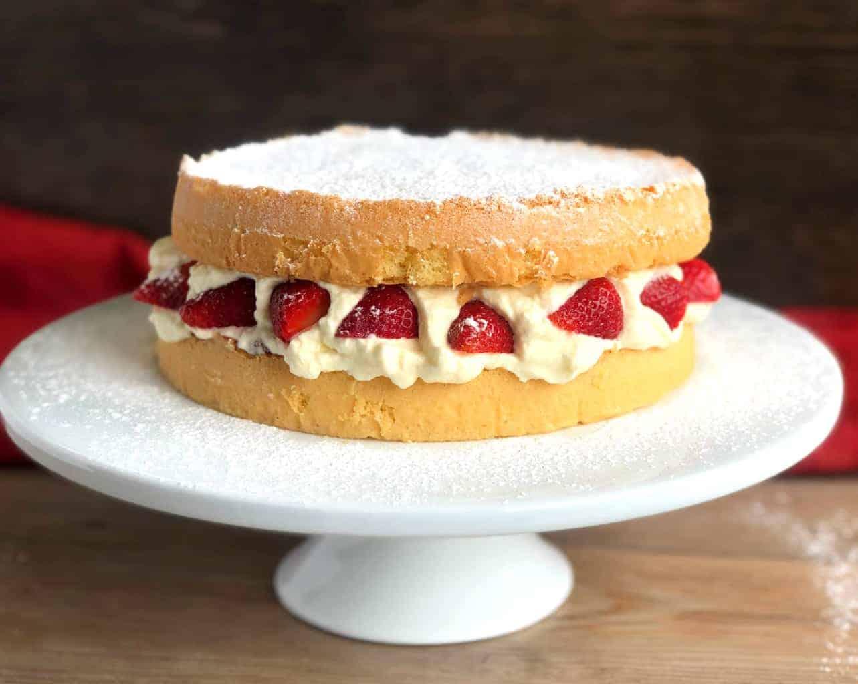 Light Airy Sponge Cake