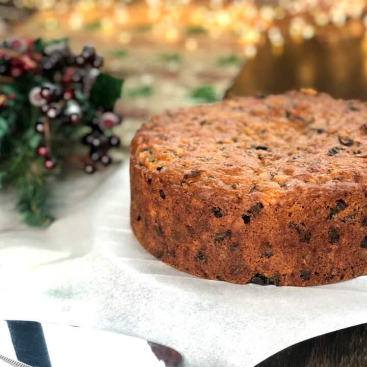 Delicious Christmas Cake