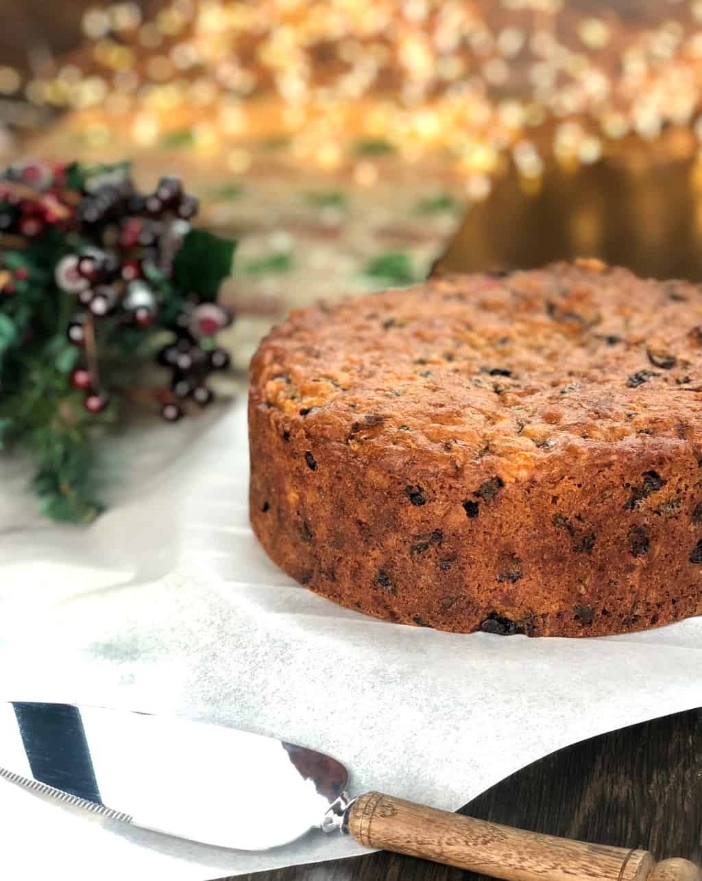 Just A Mum's Delicious Christmas Cake