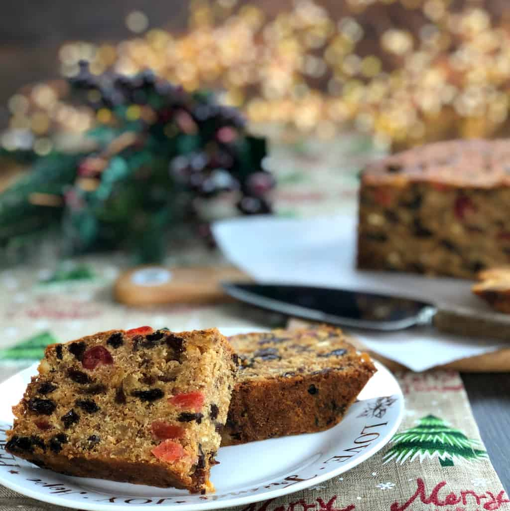 Just A Mum's Christmas Fruit Cake