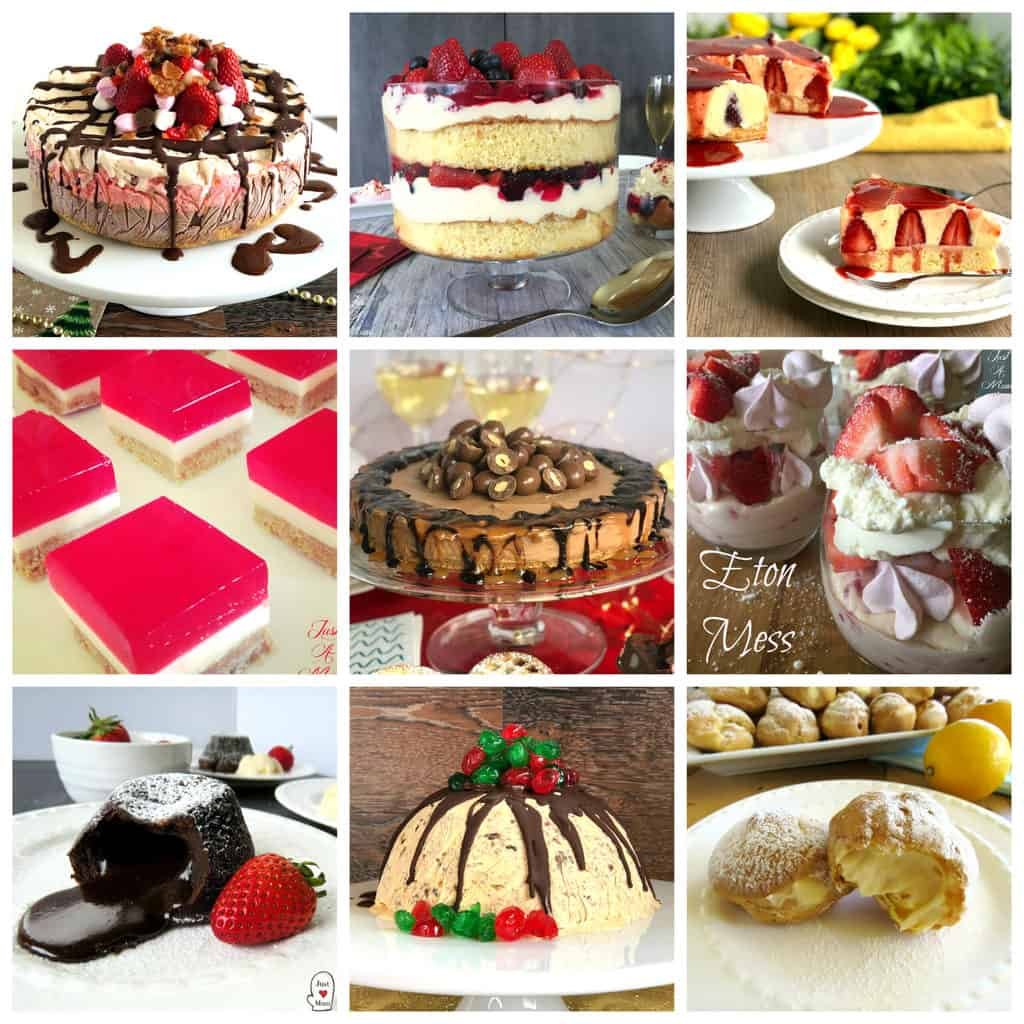 25 Delicious Christmas Desserts Just A Mum