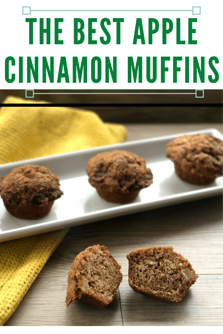 The best apple and cinnamon muffin recipe, the only one you will ever need. With or without topping