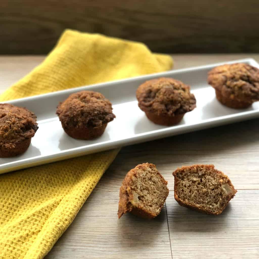 Grated and Apple Chunk Muffins