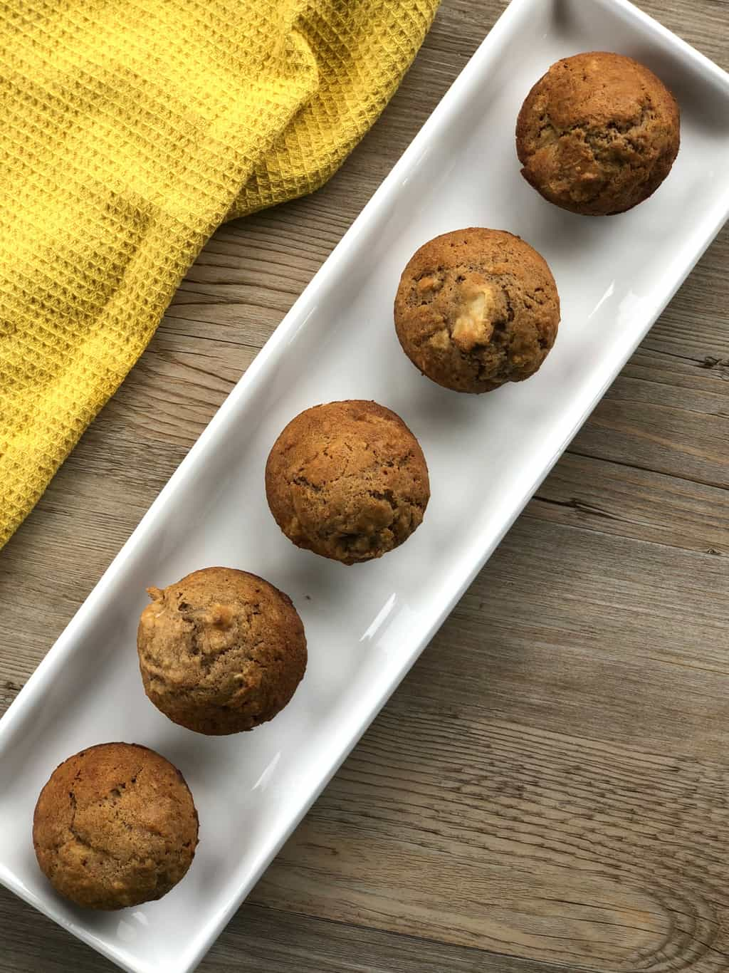 Lunch Box Muffins with Apple