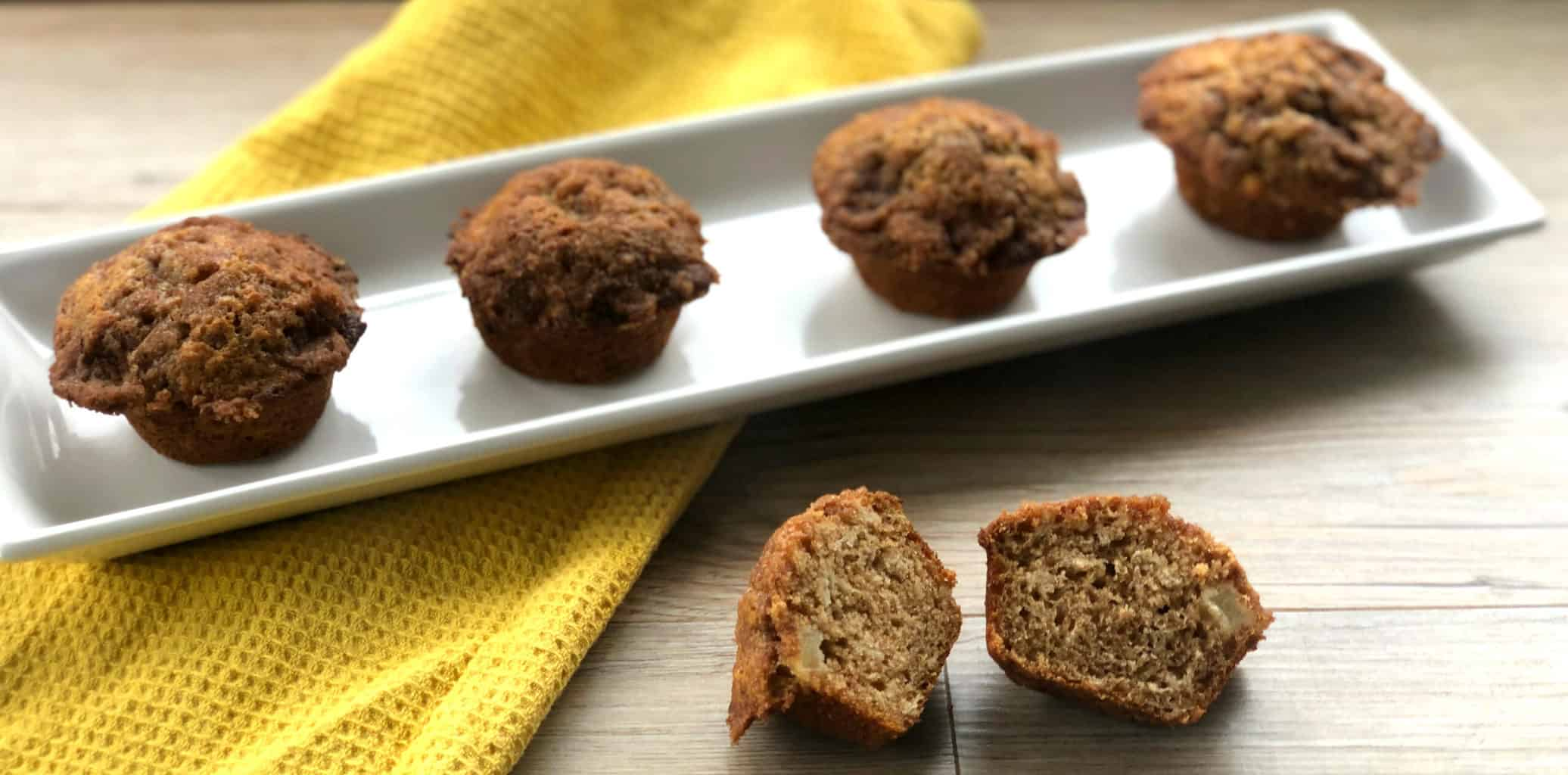 The Best Apple Cinnamon Muffins