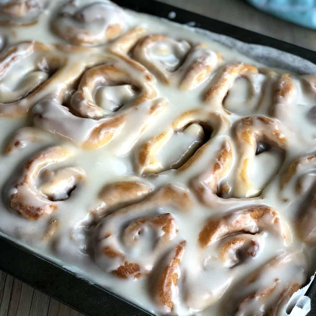 Glazed Apple Pie Scrolls