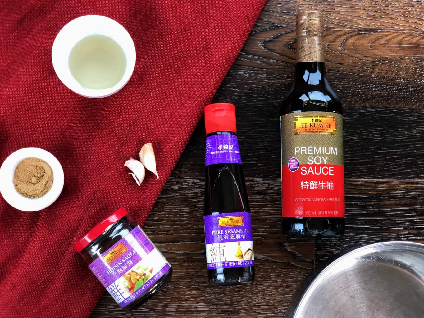 Ingredients for the best Sticky Asian Sauce