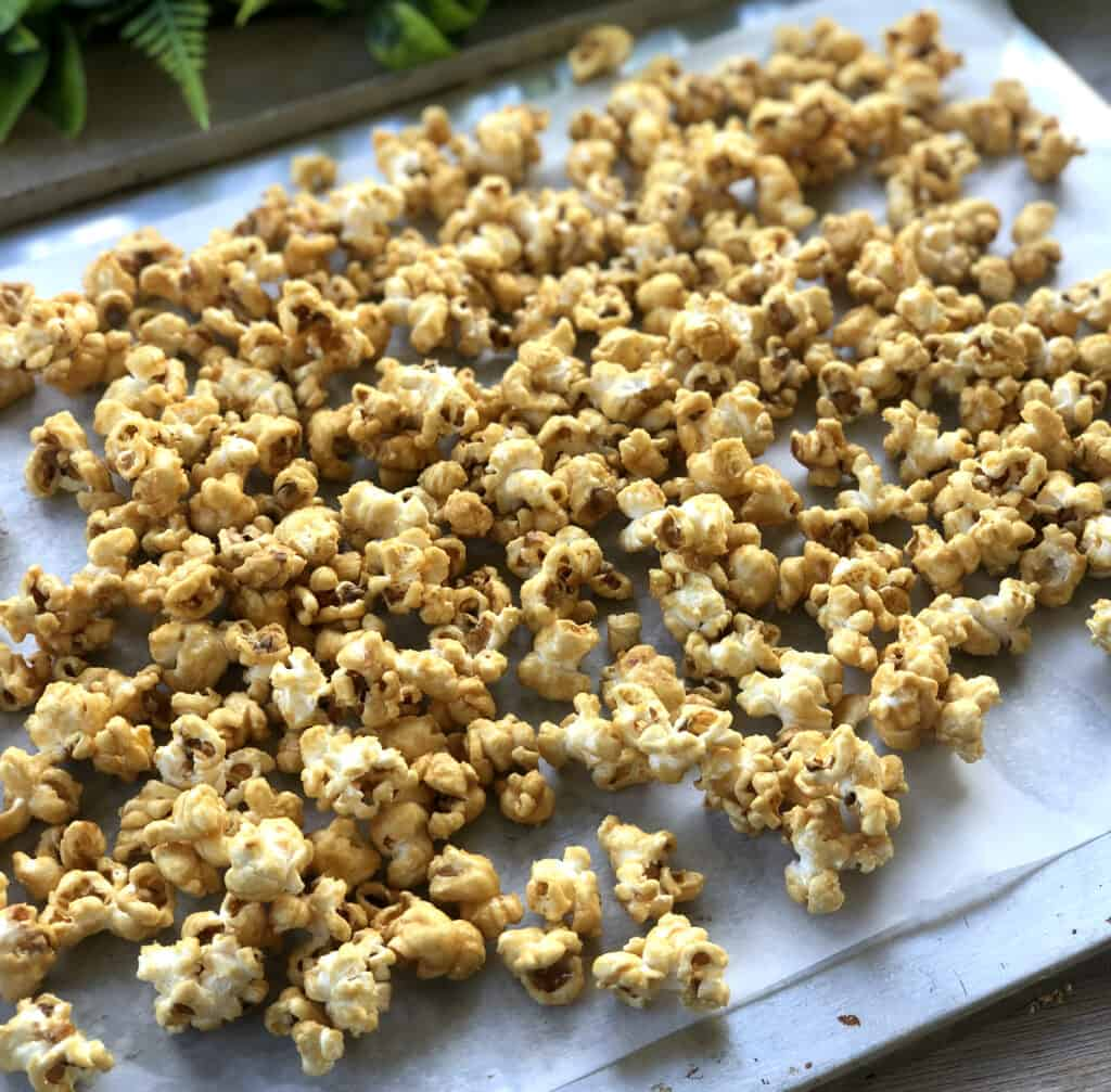 How to Make Maple Syrup Popcorn