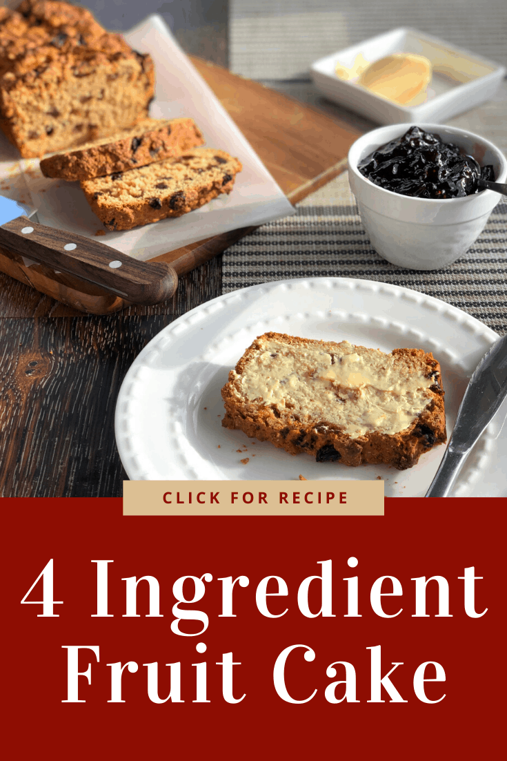 Pinterest 4 Ingredient Fruit Cake Just A Mum