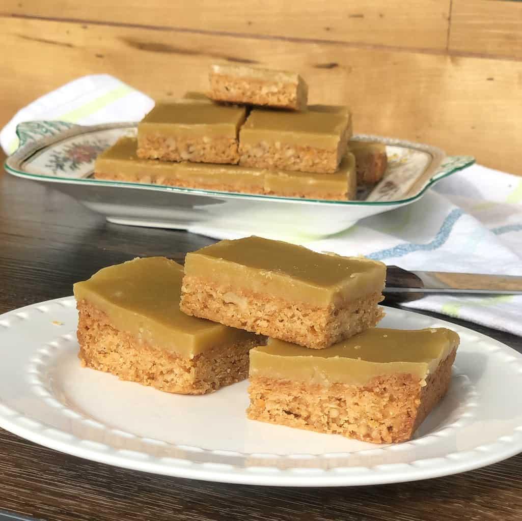 Grandma's Walnut Slice