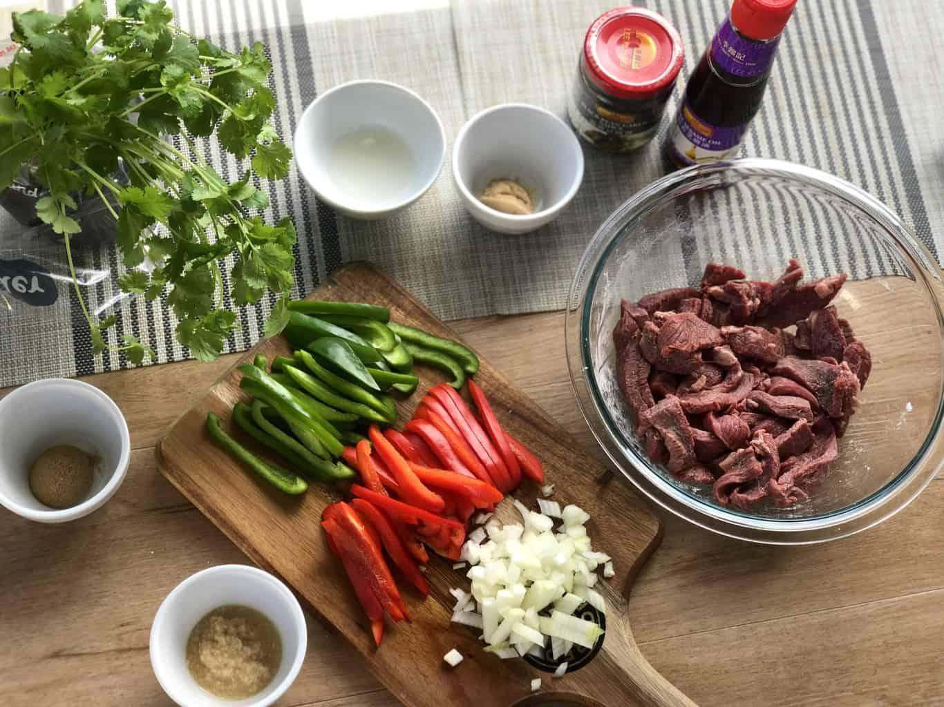 Prep for Stir Fry