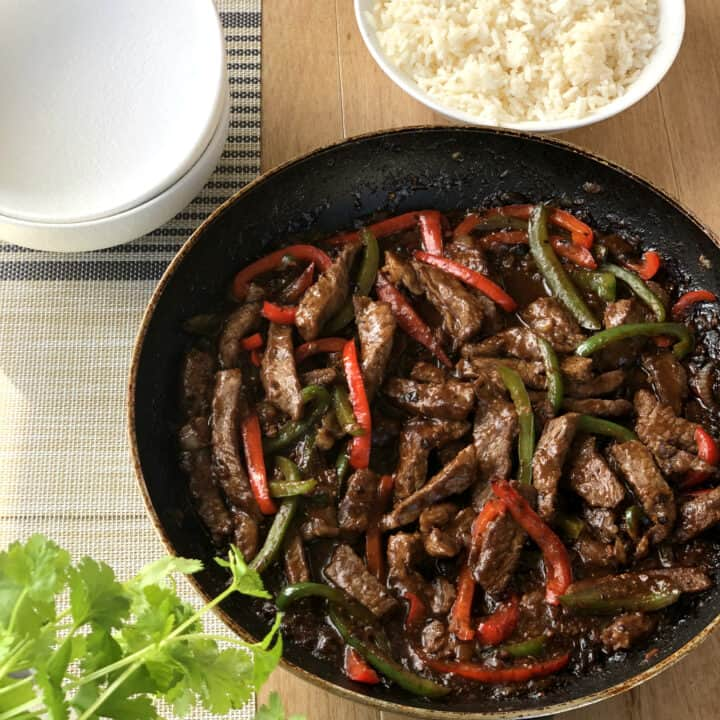Easy Black Bean Beef Stir Fry