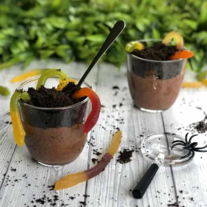 Worms in Dirt Dessert