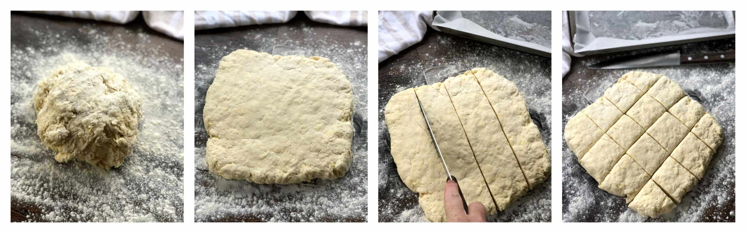 How to cut scones