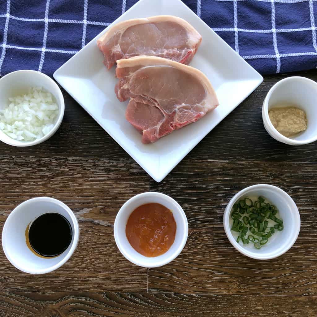 Ingredients for Apricot & Soy Sauce Glaze