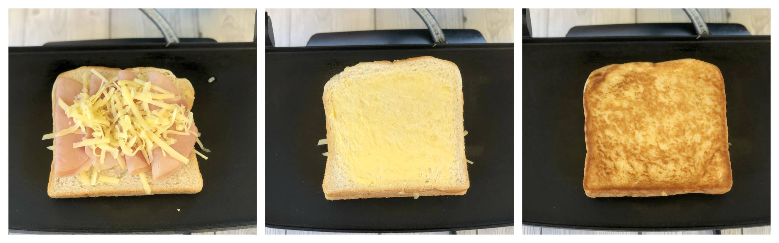 How to grill a toasted sandwich
