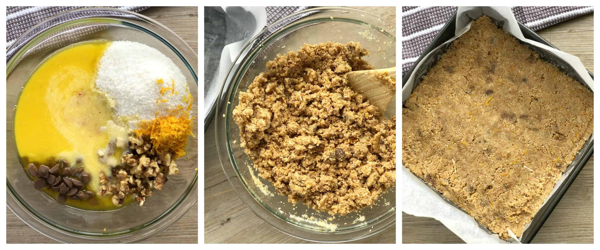 How to make Orange Coconut Biscuit Slice