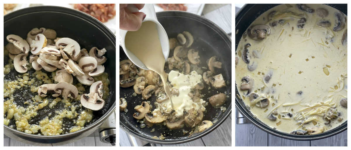 How to make a creamy pasta sauce