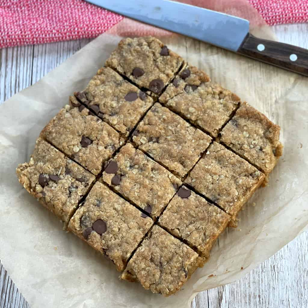 Easy Oat Cookie Slice