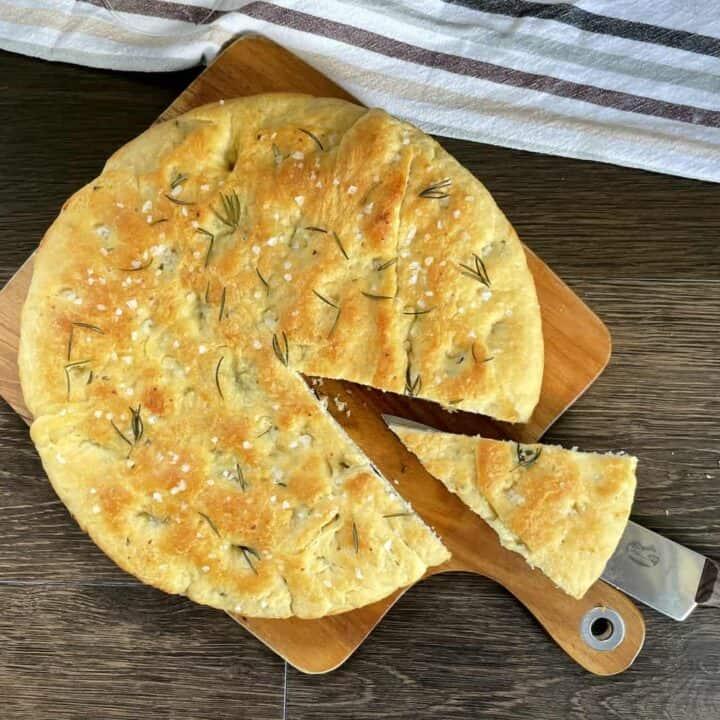 Stuffed Focaccia Bread