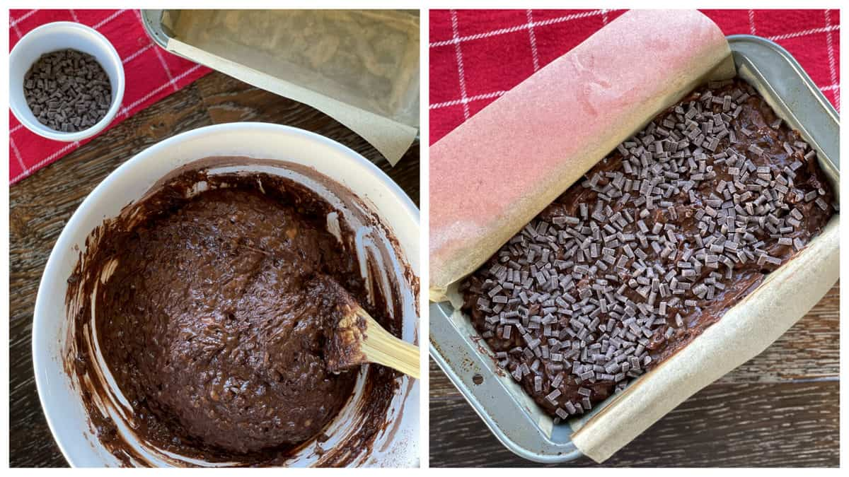 How to make Double Chocolate Banana Loaf