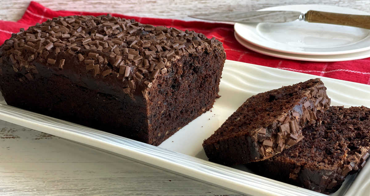Rich Chocolate Loaf