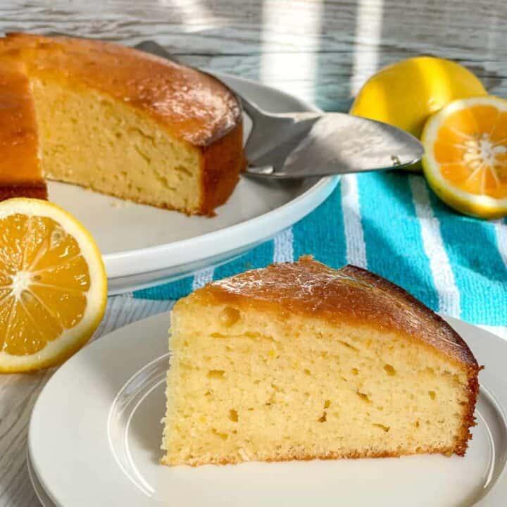 Lemon Syrup Cake